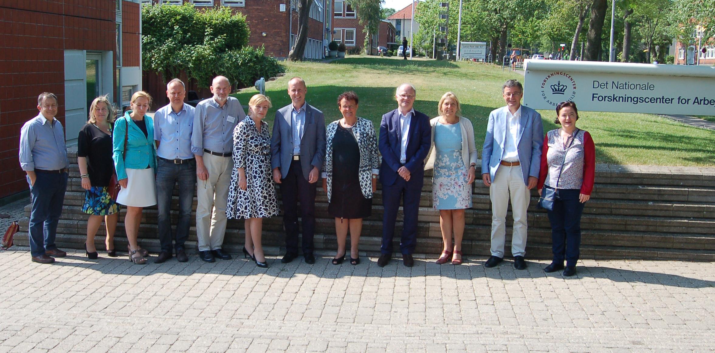 PEROSH Steering Committee Copenhagen