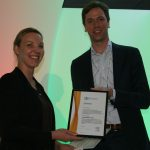 PEROSH paper about guidelines for measuring sedentary work wins prestigious award